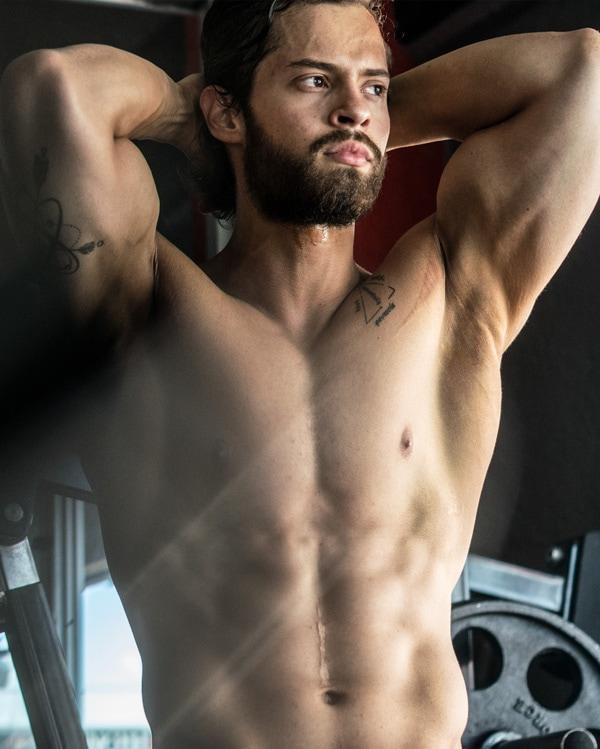 male muscle gain program